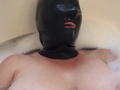 Warm up with latex mask part 2
