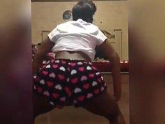 Young Black Teens Twerking