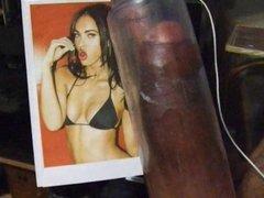 Megan Fox Gets a Creamy Load Of Man Milk
