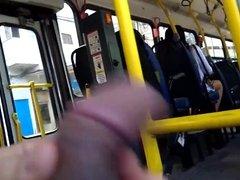 Masturbation in bus 17