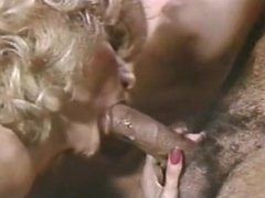 Ron Jeremy 4some with Little Oral Annie