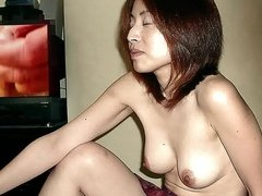 Wank with Great Japanese Tits