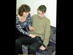 Slideshow with Finnish Captions: Mom Irene 1
