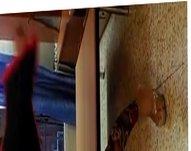 Bulgarian Teen Gipsy hooker dance in my home