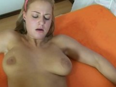 Dirty Slut with Pierced Clit gets her Holes Stuffed