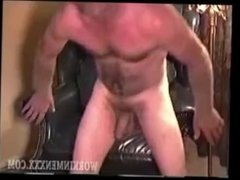 Mature Man Troy Jerks Off
