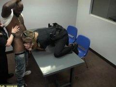Black girl white guy neighbor Milf Cops