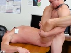 Straight men seduced by gay First day at