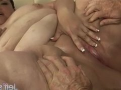 Fat ass Angelina takes fat dick