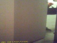 Toilet spy 17 - Splendid young ass