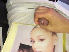 Ariana Grande Cum Tribute 37