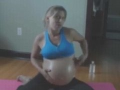 Pregnant belly hot mama