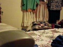 Milf undressing 2