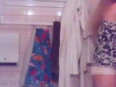 Before Her Shower Voyeur Video