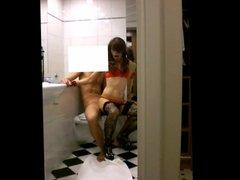 My Dirty Thai Ladyboy - Hotel Bathroom Copenhagen