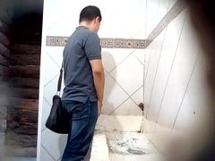 Caught - Helping Hand (Public toilet)