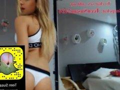 Blonde big tits sex add Snapchat: TeenSusan2424