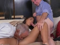 Old lady gives handjob Going South Of The