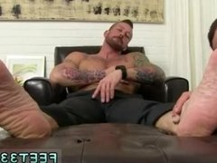 Young mens hairy legs and feet gay first