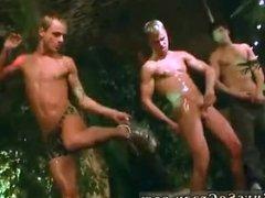 Cums shots on guys gay bear group blow job
