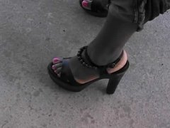 Ebony In Wood Sandals - 25 Years Old
