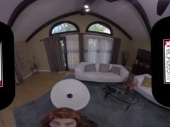 VR Cosplay X Black Widow Rides Your Cock VR Porn