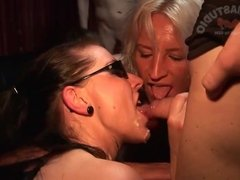 Kinky Creampie Sluts: Texas Patti and Sandra
