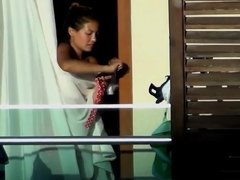 Hotel Balcony Spy 1