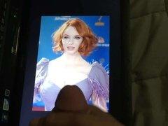 Christina Hendricks and Scarlett Johansson Tribute