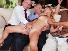 Old mature gangbang xxx Frannkie And The