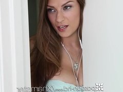 PASSION-HD Spying Dillion Carter warm creampie after workout