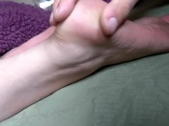 Worshiping my Aunt's Sexy Feet