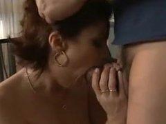 Hot Busty Mature Seduces Her Well-Built Repairman