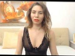 Nasty wife naked on camera