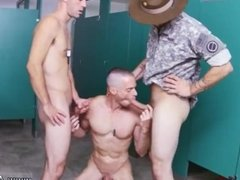 Gay couple hairy chests Good Anal Training