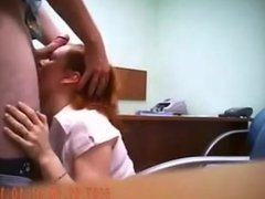 Hidden camera sex in office - see more on Fuckedoncams com