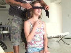 Pussylicked amateur screwed and humiliated