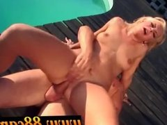 Blonde fucked in broad daylight part 4