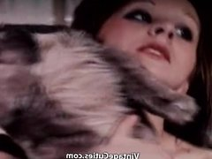 Girl Masturbates with a Plush Donkey (1970s Vintage)