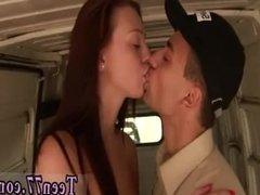 Russian brunette amateur After delivering
