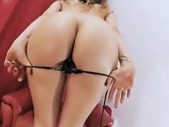 Bubble Butt Whte Teen Has Perfect Body Shaved Pussy Perky Ti