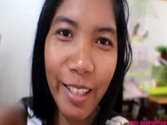 8 weeks pregnant asian tiny teen Heather Deep uses new toy and swallows cum