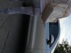 Porsche Driving MILF Yoga Pants