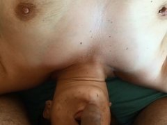 German hairy armpit PAWG blows and gets assfucked