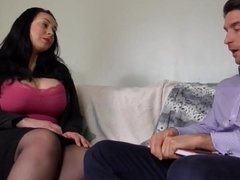 Big breasted british housewife gets fucked