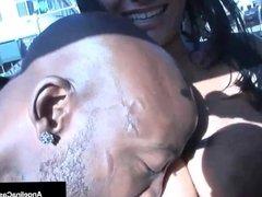 Cuban Queen Angelina Castro Fucks Big Black Cock Everywhere!