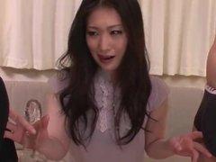 Top rated threesome Asian blowjob with Naomi Sugawara