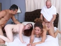 Mom and dad fuck compeer's daughter