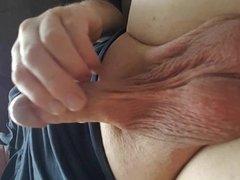 Thick loads of pre cum