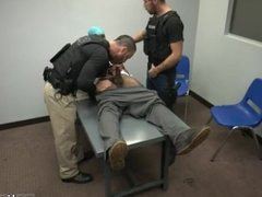 Cops swallowing own cum gay first time